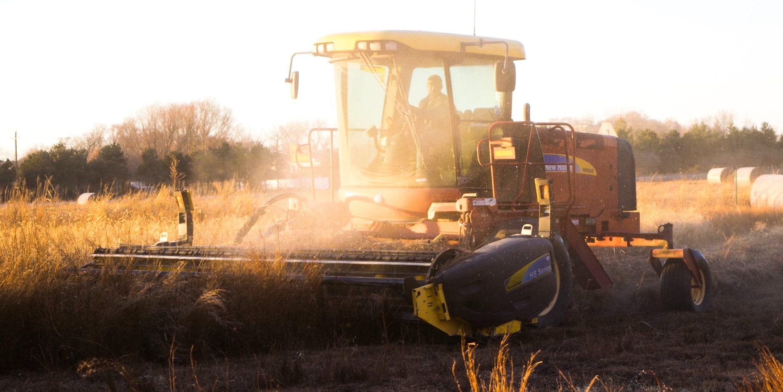 Умные комбайны собрали 720 тысяч тонн урожая